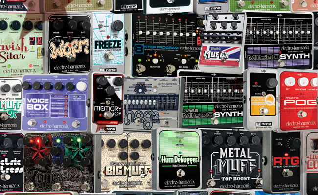 Electro Harmonix – Effects Pedals